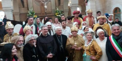 """Il sindaco in Terra Santa: """"Ho pregato per Sant'Anastasia e per i miei concittadini"""" FOTO"""