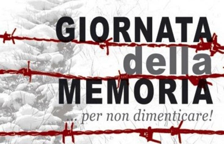 Giornata della memoria, il manifesto dell'amministrazione Di Maiolo