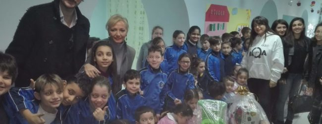 Da Brusciano regali e solidarietà per i bimbi sordomuti
