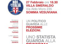 Politiche. Noi con l'Italia presenta i suoi candidati, appuntamento a Somma Vesuviana