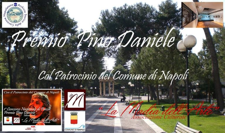 """Alla  Casina Pompeiana di Napoli serata di gala del """"Premio Pino Daniele"""""""