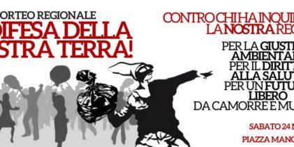 """Per la difesa della nostra terra  domani a Napoli la manifestazione """"JATEVENNE"""""""