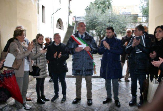 """Somma. Cerimonia del Comune per Gioacchino, Domenico e Francesco, il sindaco: """"Ricordiamo il sangue versato da vittime innocenti"""" FOTO"""
