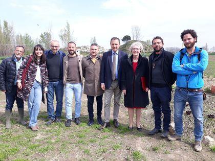 """L'Ambasciatore canadese in visita alla masseria Ferraioli di Afragola. Il sindaco Tuccillo: """"Grande interesse al museo della biodiversità"""""""