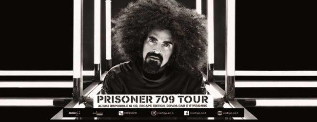 Cava de' Tirreni, il 30 luglio concerto di Caparezza col suo 'Prisoner 709 Tour'