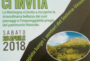 """""""La montagna ci invita"""", ad Ottaviano una passeggiata ecologica sul Monte Somma"""