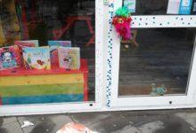 """Pomigliano. Atti vandalici contro la libreria """"Mio nonno è Michelangelo"""""""