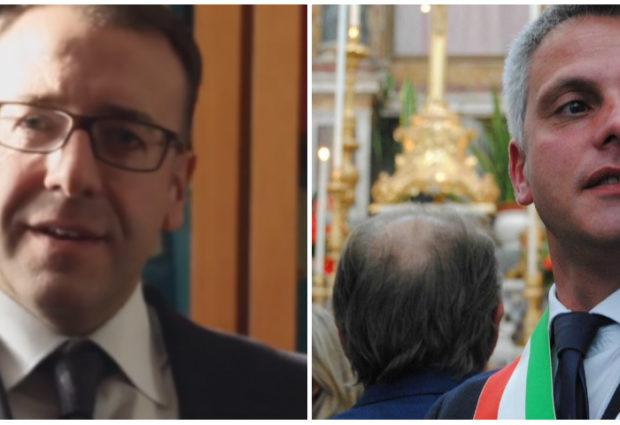 """Elezioni ad Ottaviano. La """"forza mite"""" di Nocerino contro """"l'irruenza"""" di Capasso"""