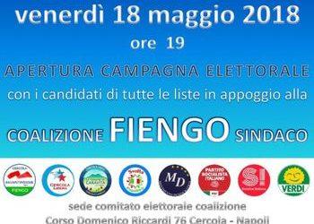 Cercola, Vincenzo Fiengo apre la campagna elettorale