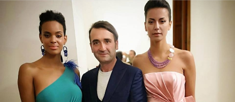 Un incanto di ricami preziosi e colori la nuova collezione dello stilista i Raffaele Tufano FOTOGALLERY