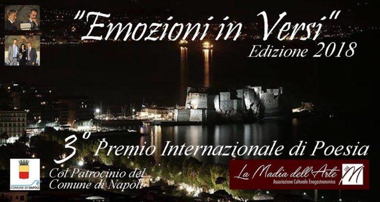 """La Madia dell'Arte cala il tris con il premio internazionale """"Emozioni in versi"""""""