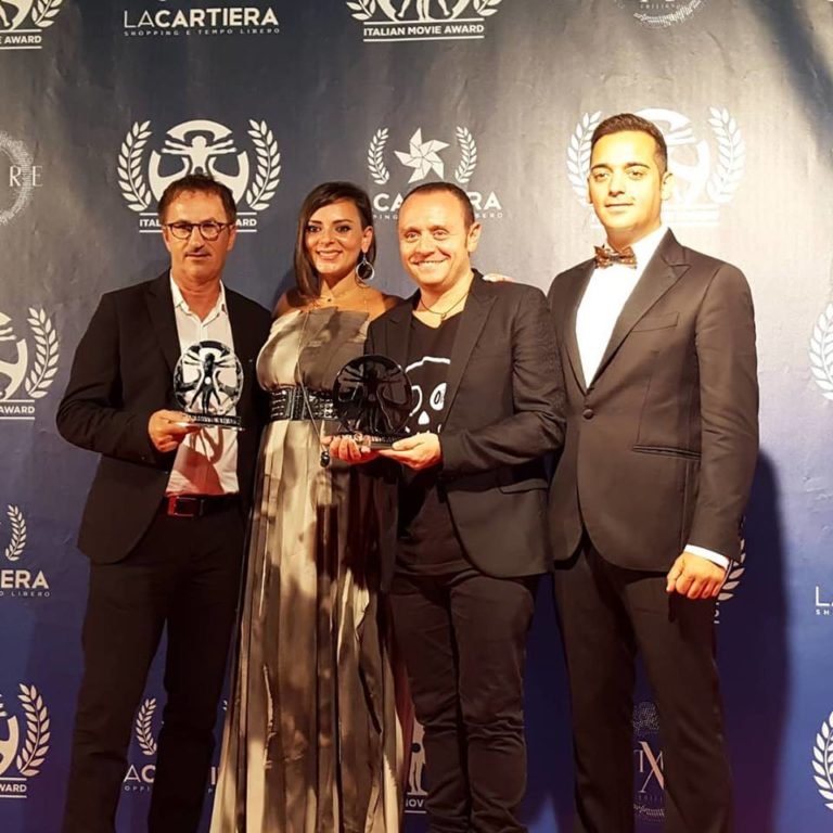 Italian Movie Award 2018: premiati gli Arteteca ed il produttore Nando Mormone