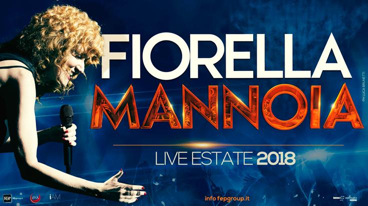 Fiorella Mannoia in concerto in costiera a Maiori il 17 agosto