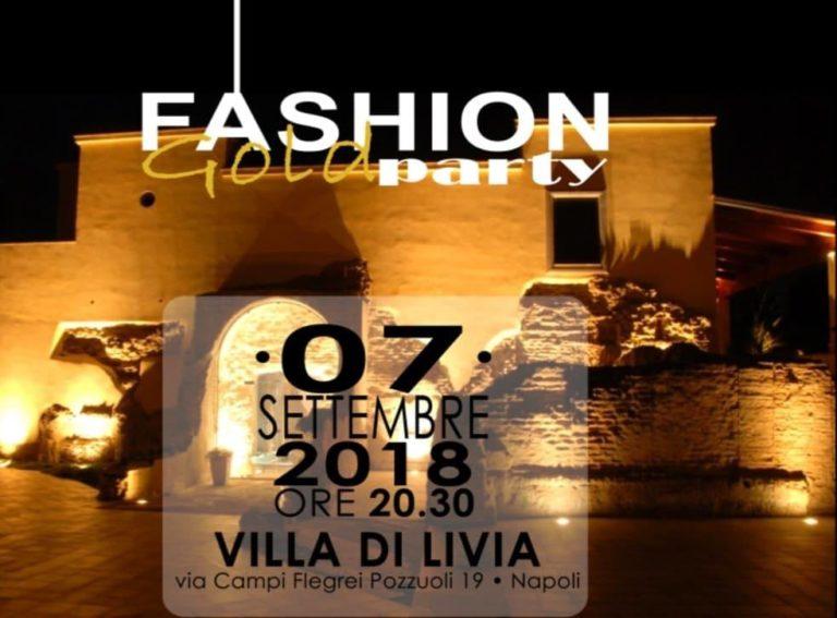 Fashion Gold Party a Villa Livia a Pozzuoli: tanti ospiti e artisti per il compleanno di Nicola Coletta