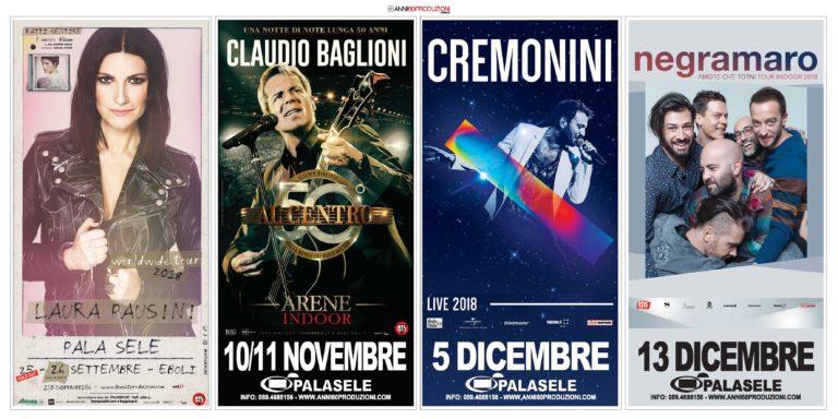 Laura Pausini al Palasele, il 25 e 26 settembre torna la grande musica italiana ad Eboli