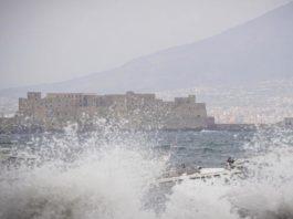 Maltempo Napoli fonte foto ansa