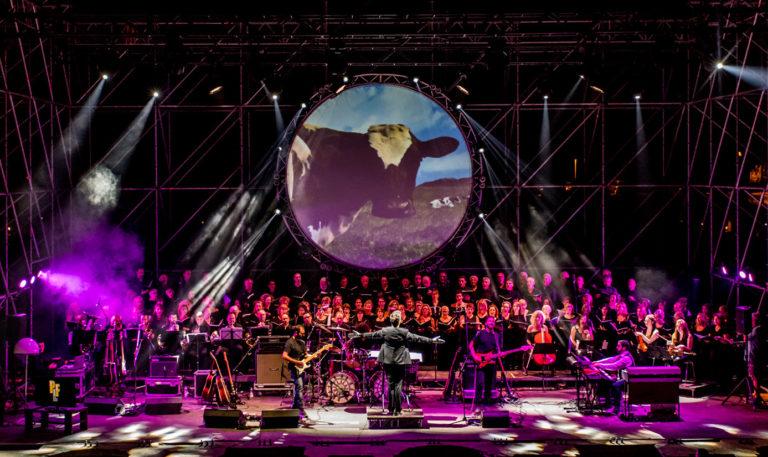 Pink Floyd Legend, al Teatro Augusteo di Napoli un ensemble di 100 artisti