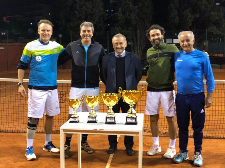 NAPOLI. Architetti, premiazione del torneo «Tra sport e professione»