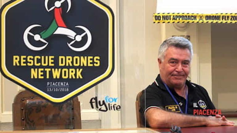 Salvatore Caliendo presidente del Rescue Drones Network, primo Network strutturato al mondo
