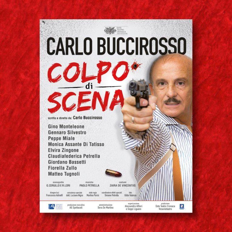 Carlo Buccirosso al Teatro Umberto di Nola con 'Colpo di scena'