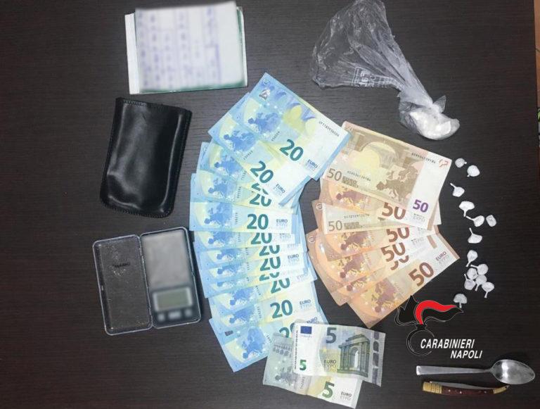 Casalnuovo. Droga, trovato con dosi di cocaina: arrestato 24enne
