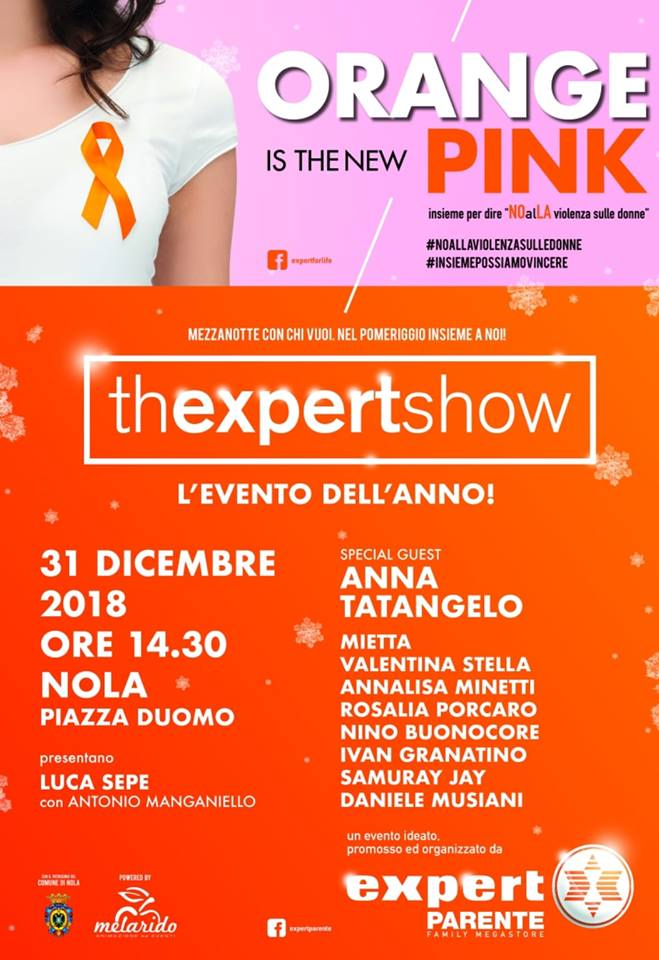 Nola, il 31 dicembre mega show in piazza Duomo: ospite Anna Tatangelo