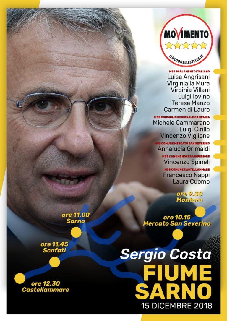 Sabato il Ministro Sergio Costa al multisala di Castellammare