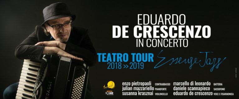 Edoardo De Crescenzo in concerto al Teatro Umberto di Nola