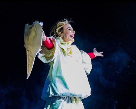 La sciantosa, Serena Autieri incanta la platea del teatro Augusteo