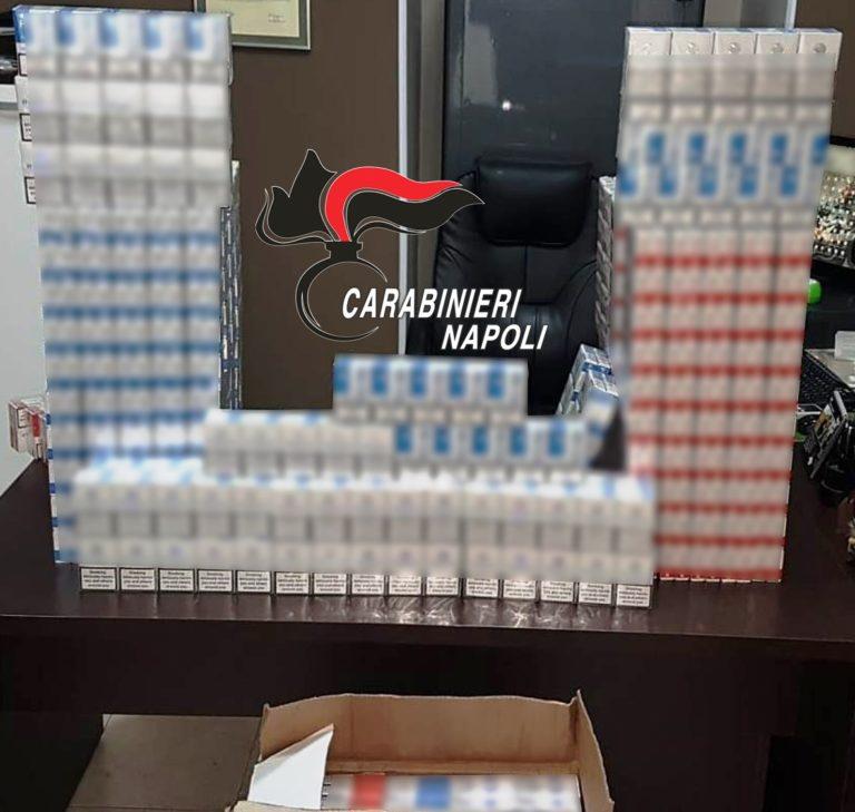 Boscoreale.3mila pacchetti di sigarette nel ripostiglio, arrestata incensurata
