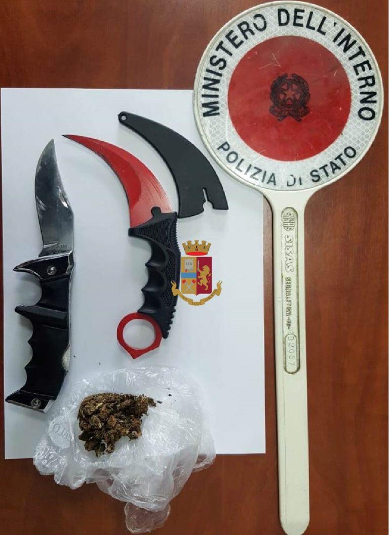 Al concerto con droga e coltelli, denunciato 16enne a Fuorigrotta