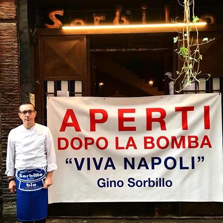 """Bomba Sorbillo,la pizzeria riapre dopo 48ore.Il proprietario: """"Segnale forte """""""