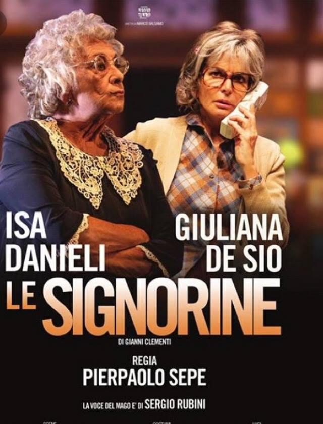 """Acerra, teatro Italia: arrivano """"Le signorine"""" con Isa Danieli e Giuliana De Sio"""