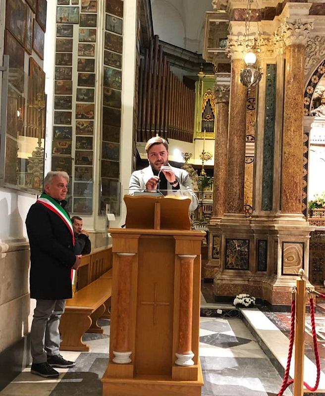 Sant'Anastasia. Messa al Santuario per ricordare le Foibe
