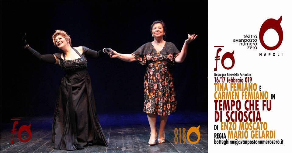 Via Sedile Di Porto 51.Teatro Avanposto Numero Zero Tina E Carmen Femiano Raccontano Il