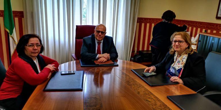 Salerno. Angrisani e Villani (M5s) dal Prefetto, i temi: ambiente e sicurezza