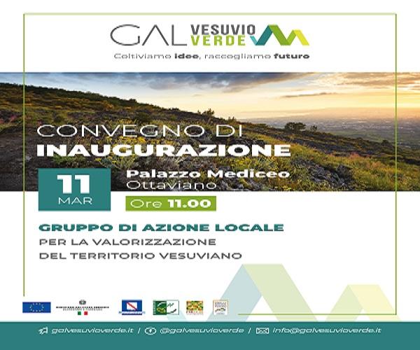 """Ottaviano. Sviluppo sostenibile, lunedì inaugura """"Gal Vesuvio Verde"""""""