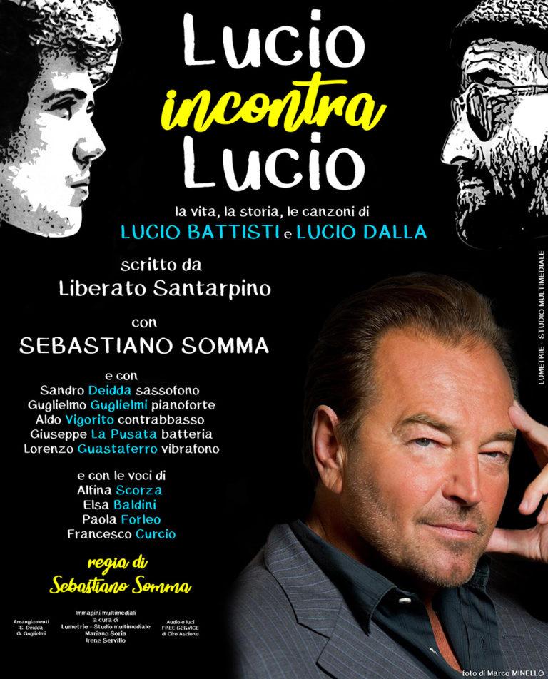 Lucio incontra Lucio: le interviste ai protagonisti al teatro Augusteo