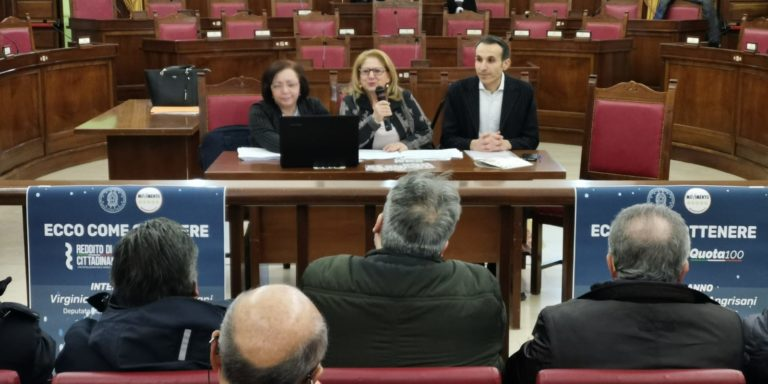 Reddito di cittadinanza e Quota 100, Angrisani e Villani a Nocera