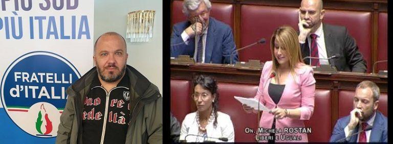 Congresso mondiale famiglie, FdI di Melito risponde a Rostan