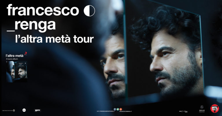 "Francesco Renga al ""Gran Teatro"" Paladianflex  con ""L'altra metà tour"""