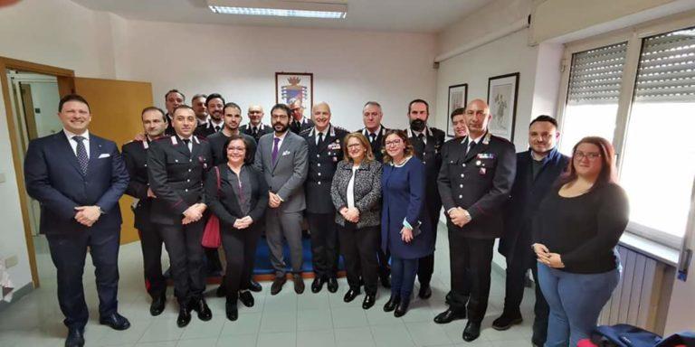 M5S, visita istituzionale ai carabinieri di Scafati e Torre Annunziata