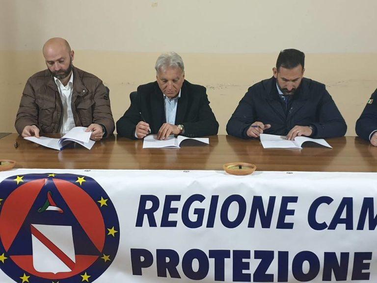 Protezione Civile: nasce l'intesa tra Sant'Anastasia, Cercola e Massa