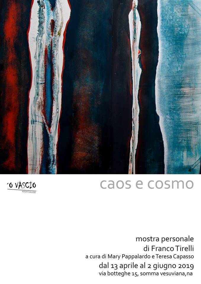 O' Vascio Room Gallery, da oggi la mostra di Franco Tirelli