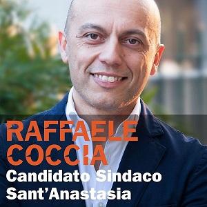 Sant'Anastasia. Ecco le liste del candidato sindaco Raffaele Coccia