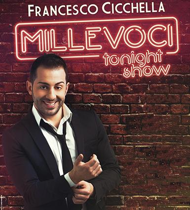 Millevoci Tonight Show, al Gesualdo di Avellino arriva Francesco Cicchella