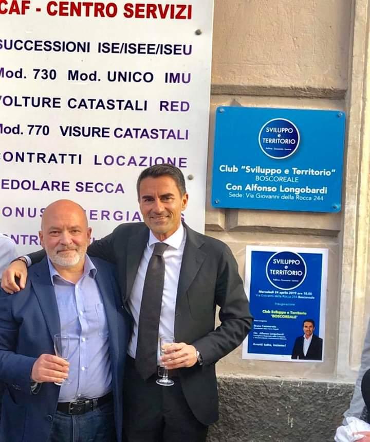 Sviluppo e territorio, Longobardi inaugura nuovo club a Boscoreale