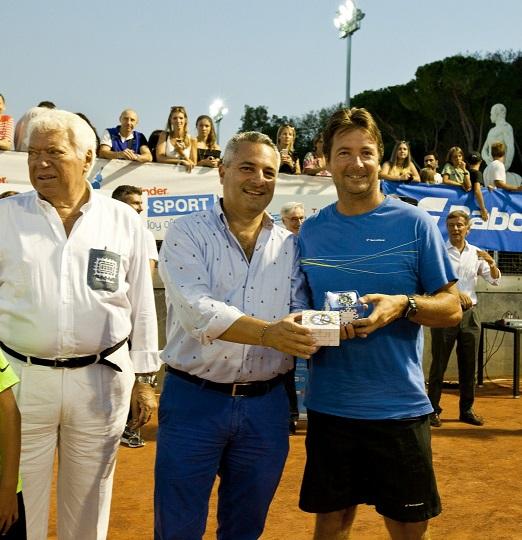 Capri Watch ancora una volta sostiene il tennis  dai grandi campioni ai giovanissimi