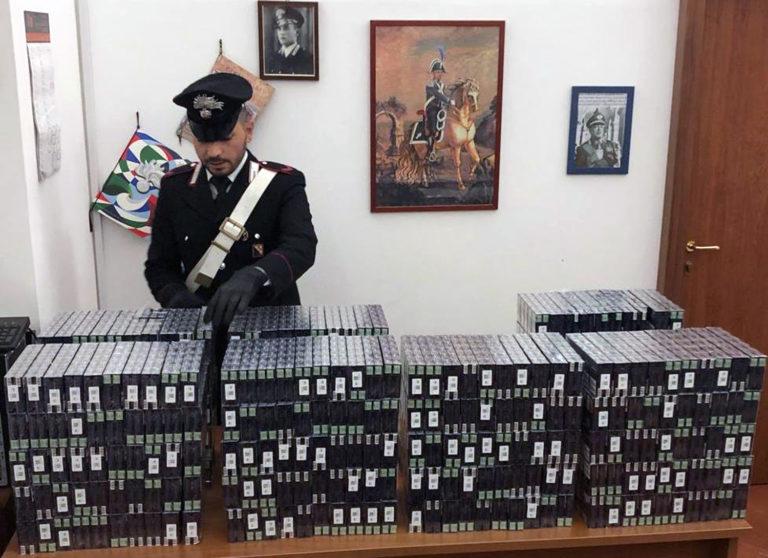 Pollena. Contrabbando, scoperte 2mila stecche di sigarette: arrestati