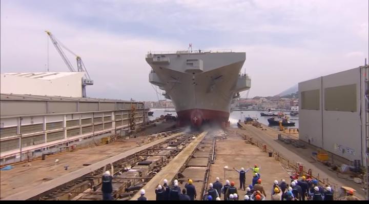 "Varo nave Trieste, CPS: ""Orgogliosi dei cantieri navali di Castellammare"""